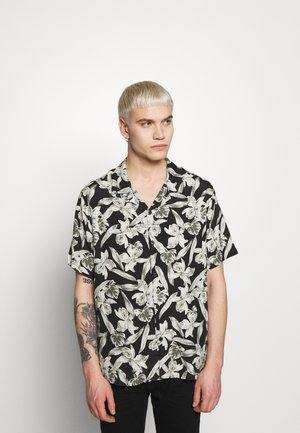 CHEMISE FLORAL PRINT - Skjorter - black