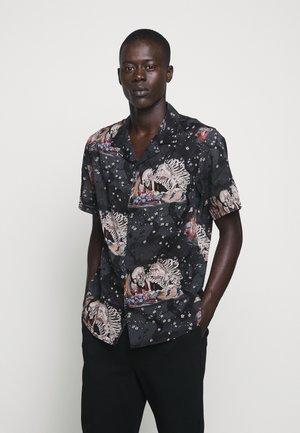 CHEMISE JAPANESE PRINT - Camicia - black