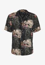CHEMISE JAPANESE PRINT - Shirt - black