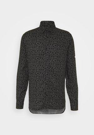 CHEMISE - Shirt - black / white