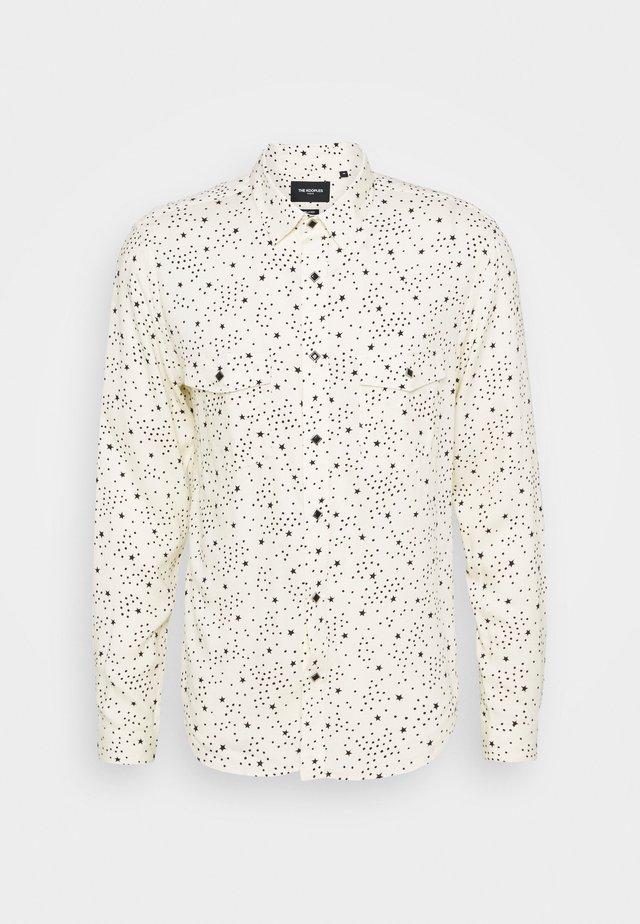 CHEMISE - Shirt - ecru black