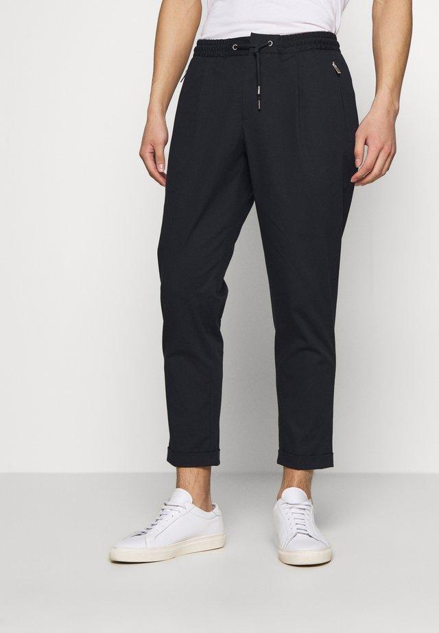PANTALON - Trousers - dark navy