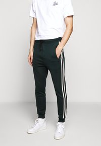 The Kooples - Tracksuit bottoms - night pine green - 0