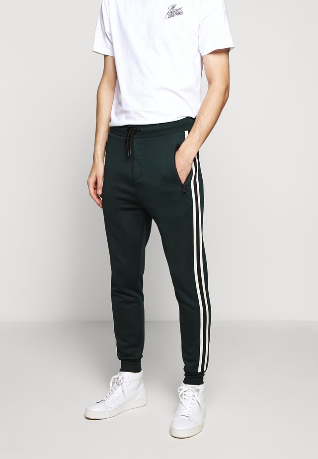 Tracksuit bottoms - night pine green