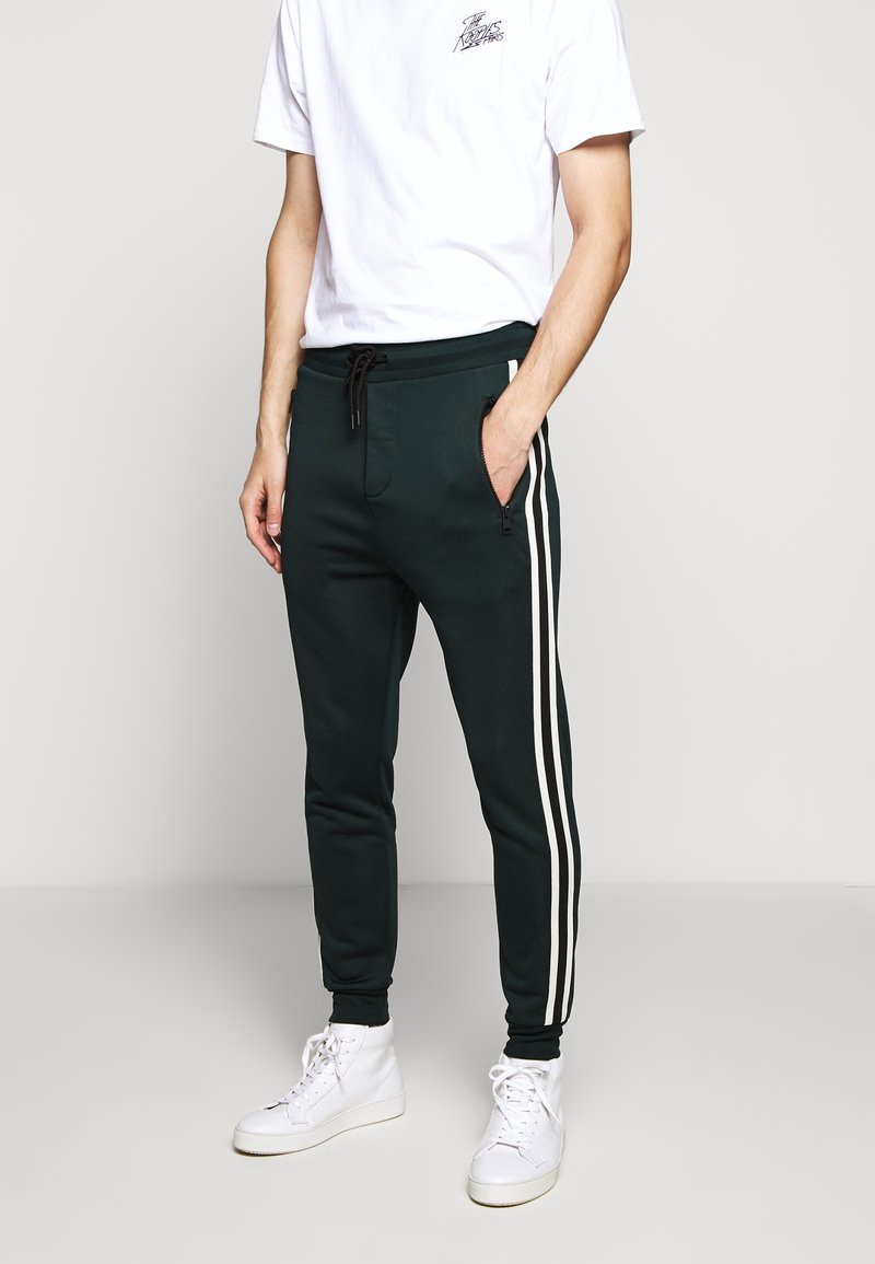 The Kooples - Tracksuit bottoms - night pine green