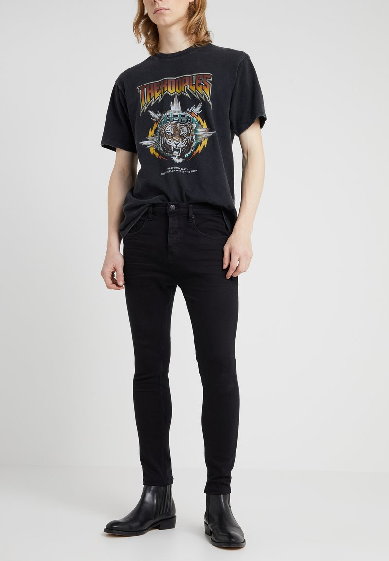 The Kooples - Jeans Skinny Fit - black denim