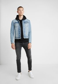 The Kooples - JEAN - Jeans slim fit - grey denim - 1