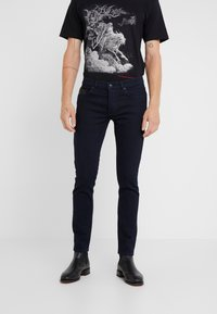 The Kooples - JEAN  - Vaqueros slim fit - blue black - 0