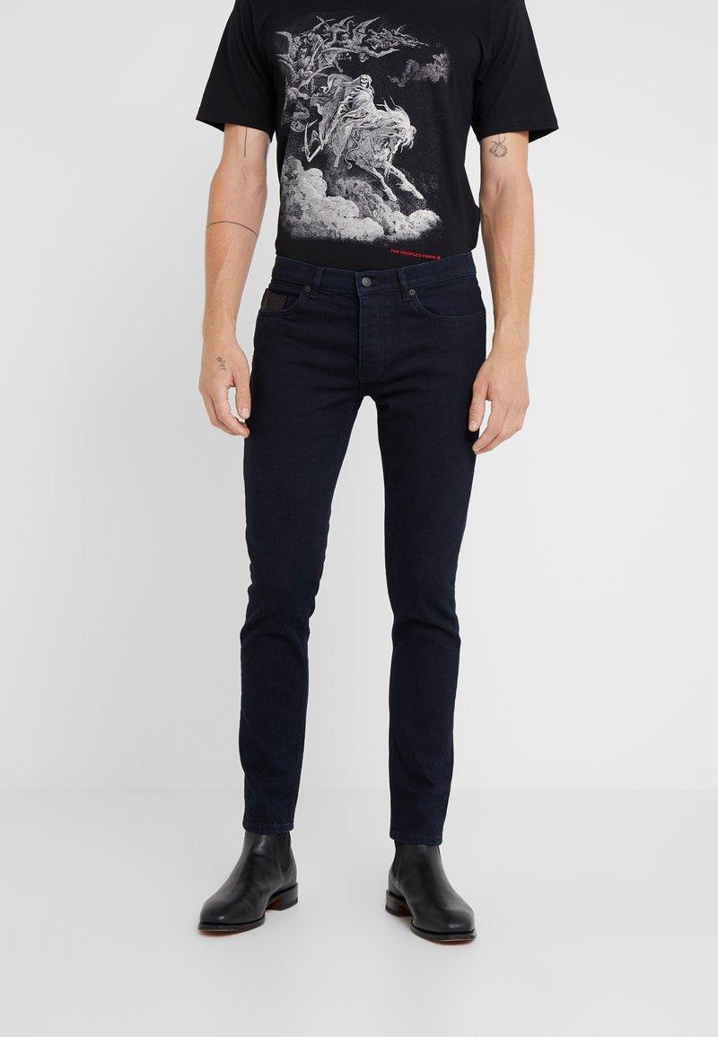 The Kooples - JEAN  - Jean slim - blue black