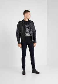The Kooples - JEAN  - Vaqueros slim fit - blue black - 1