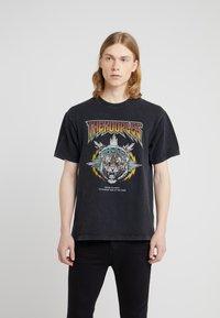 The Kooples - TEE  - T-shirt print - black - 0