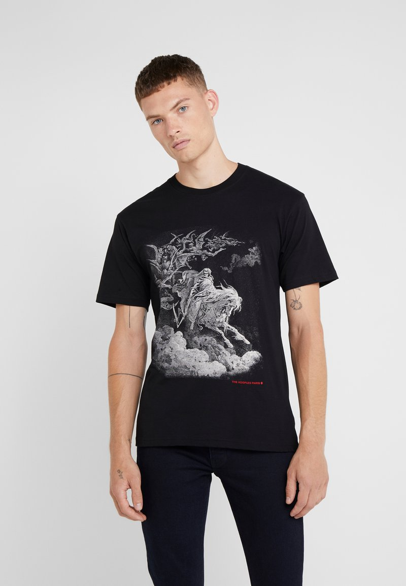 The Kooples - T-shirts print - black