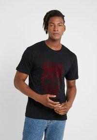 The Kooples - Print T-shirt - black - 0