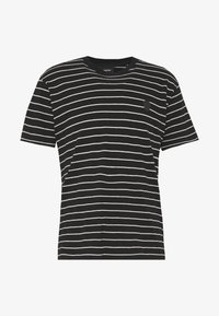 The Kooples - STRIPED - T-shirt imprimé - black/ecru - 4