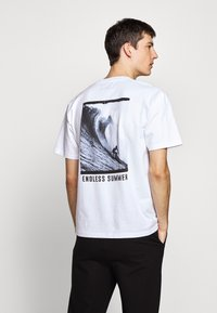 The Kooples - T-shirt print - white - 2