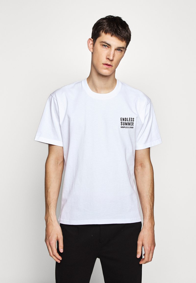 The Kooples - T-shirt print - white