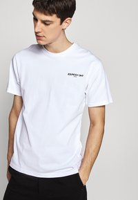 The Kooples - CHEST LOGO - T-shirts print - white - 3