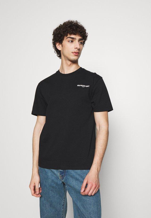CHEST LOGO - T-shirt imprimé - black
