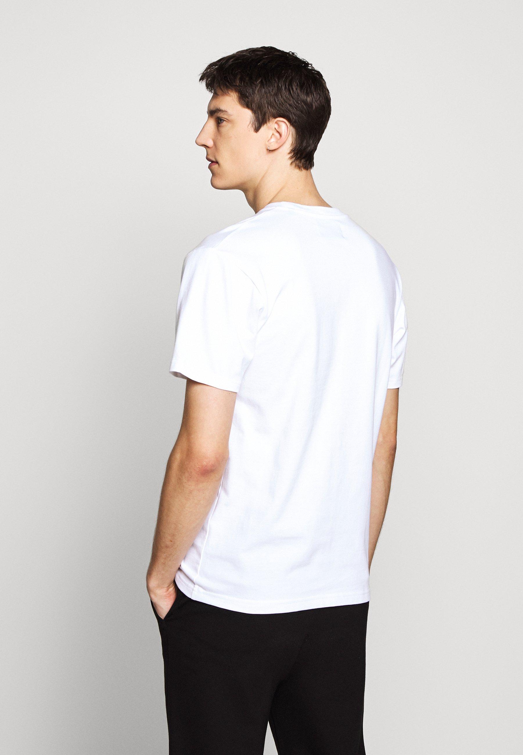 The Kooples Skull - T-shirt Med Print White