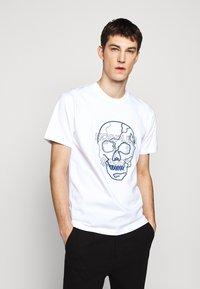 The Kooples - SKULL - T-Shirt print - white - 0