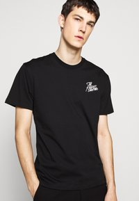 The Kooples - CHEST LOGO WRITING - T-shirt print - black - 3
