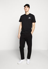The Kooples - CHEST LOGO WRITING - T-shirt print - black - 1