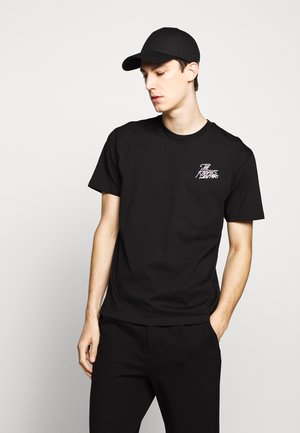 CHEST LOGO WRITING - T-shirts print - black