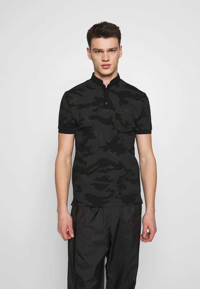 CAMO - Polo shirt - black