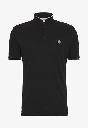 Poloshirts - black/white