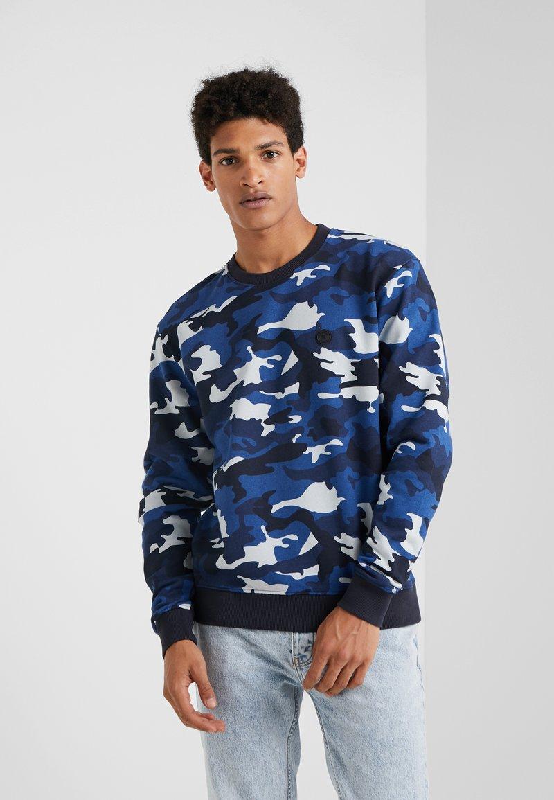 The Kooples - Sweatshirt - blue camo
