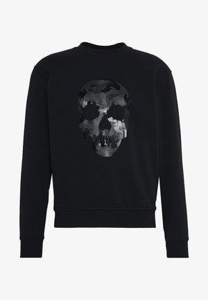 CAMO SKULL - Sweater - black