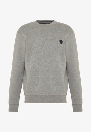 SKULL PATCH  - Sweater - middle grey melange