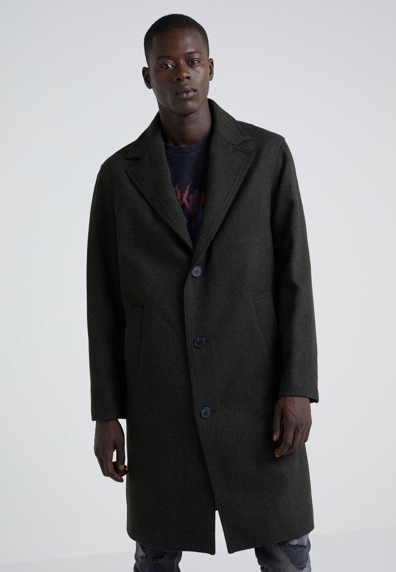 The Kooples - STRAIGHT COAT - Classic coat - khaki
