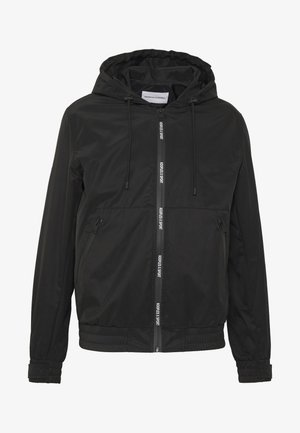 HOODED LIGHT JACKET - Korte jassen - black