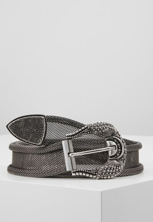 Belt - antic silver-coloured