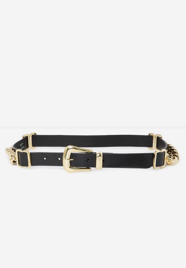 CEINTURE  - Belt - black / gold
