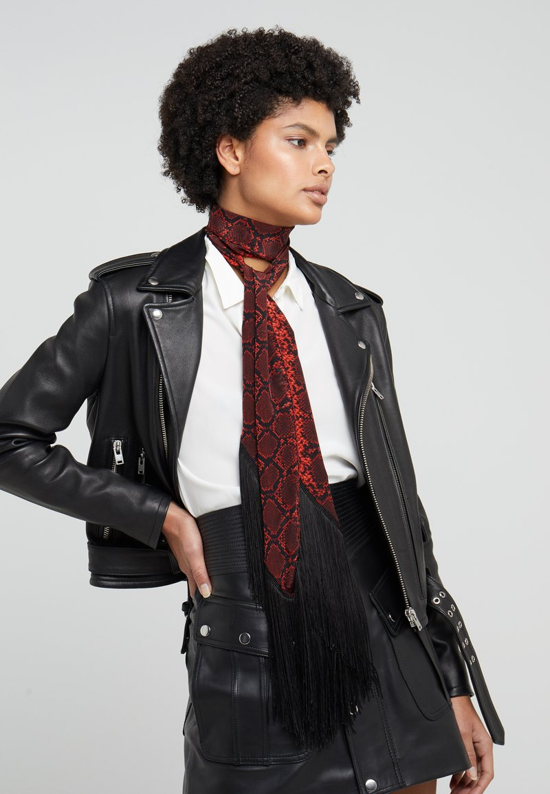 The Kooples - AFECK - Scarf - red