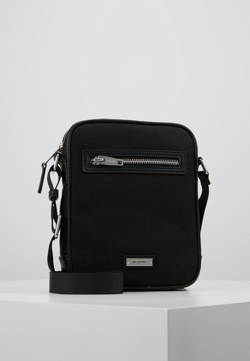 The Kooples - SAC EPAULE - Across body bag - black