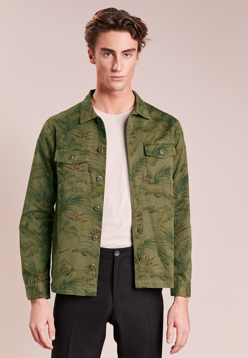 The Kooples SPORT - WITH TWO POCKETS - Chemise - khaki