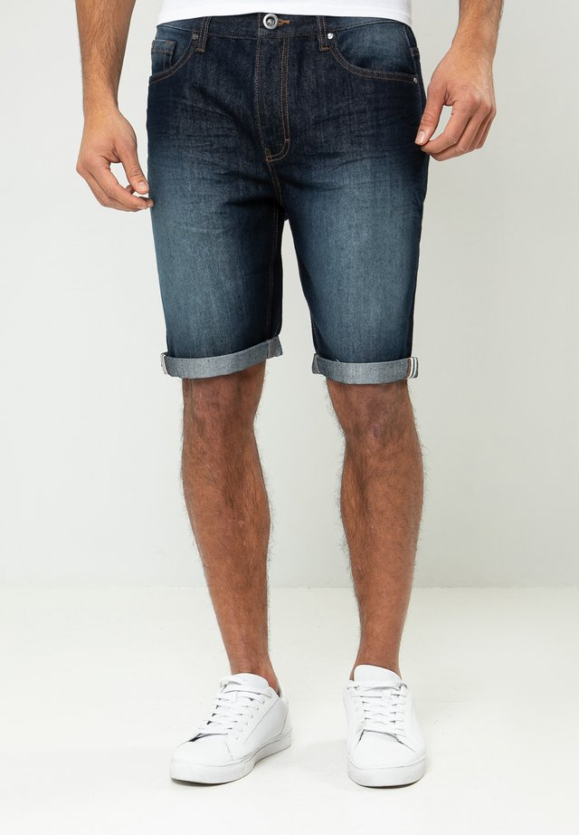 SHAWN  - Denim shorts - blau