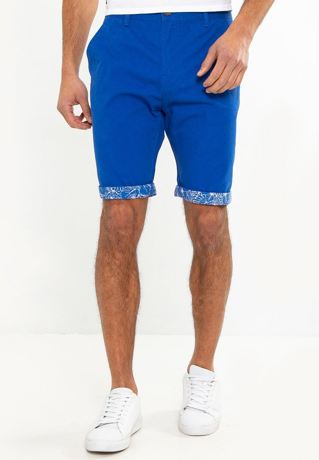 SHORT REDCAR - Shorts - blau