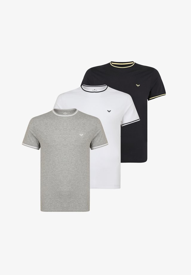 3 PACK - Basic T-shirt - multi