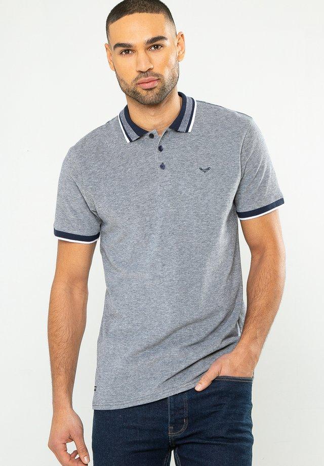 THREADBARE POLOHEMDEN - Polo shirt - dunkelblau