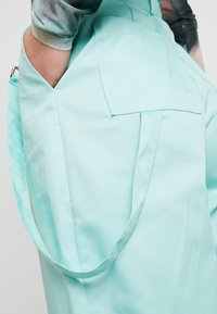 The Ragged Priest - WIDE LEG CROPPED TROUSER WITH STRAP - Kangashousut - mint - 3