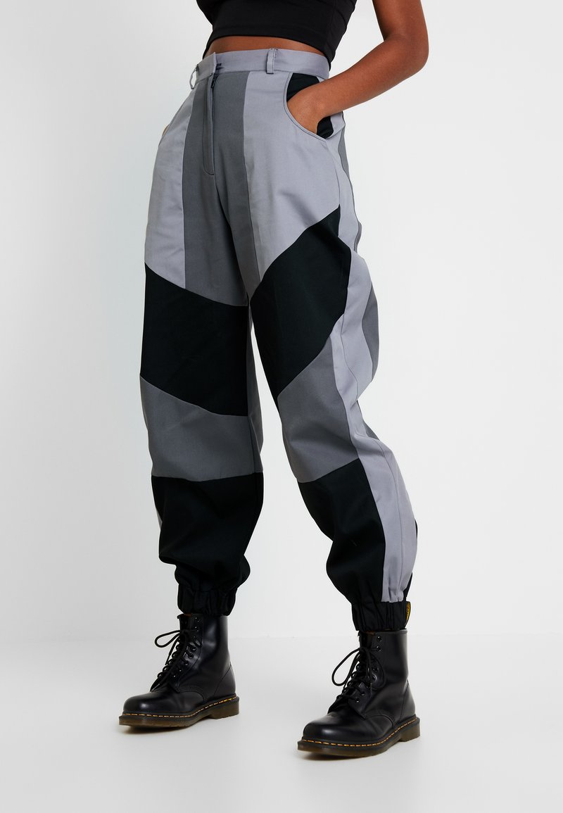 The Ragged Priest - PRESSURE PANT - Broek - grey/multi