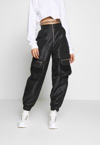 The Ragged Priest - REPORT PANT - Kalhoty - black - 0