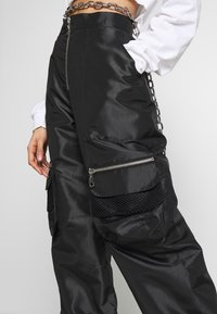 The Ragged Priest - REPORT PANT - Kalhoty - black - 4