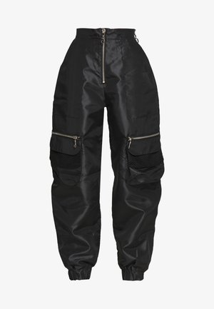REPORT PANT - Trousers - black