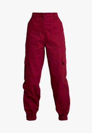 TOPIC PANT - Bukse - maroon