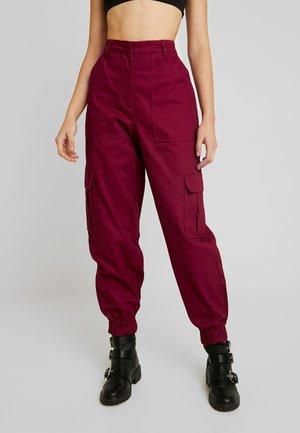 TOPIC PANT - Pantalon classique - maroon